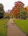 Footpath to Millennium Fountain, Enfield - geograph.org.uk - 602163.jpg
