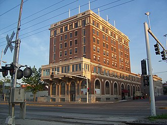 Muscatine, Iowa - The former Hotel Muscatine has recently been remodeled. Opponents to the project stated the changes would ruin the historical integrity of the building.