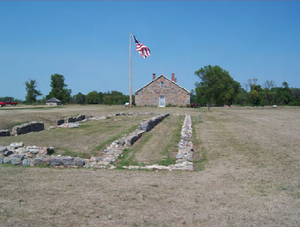Battle of Fort Ridgely - The ruins of historic Fort Ridgely