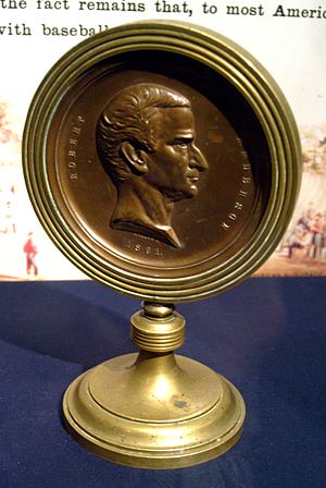 Abner Doubleday - Fort Sumter Medal bearing the likeness of Major Robert Anderson which was presented to Abner Doubleday