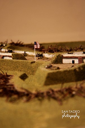Fort Ward (Virginia) - Fort Ward Scale Model