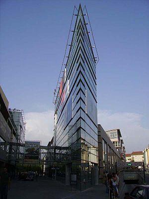 Einkaufszentrum Fórum Viseu in der Innenstadt