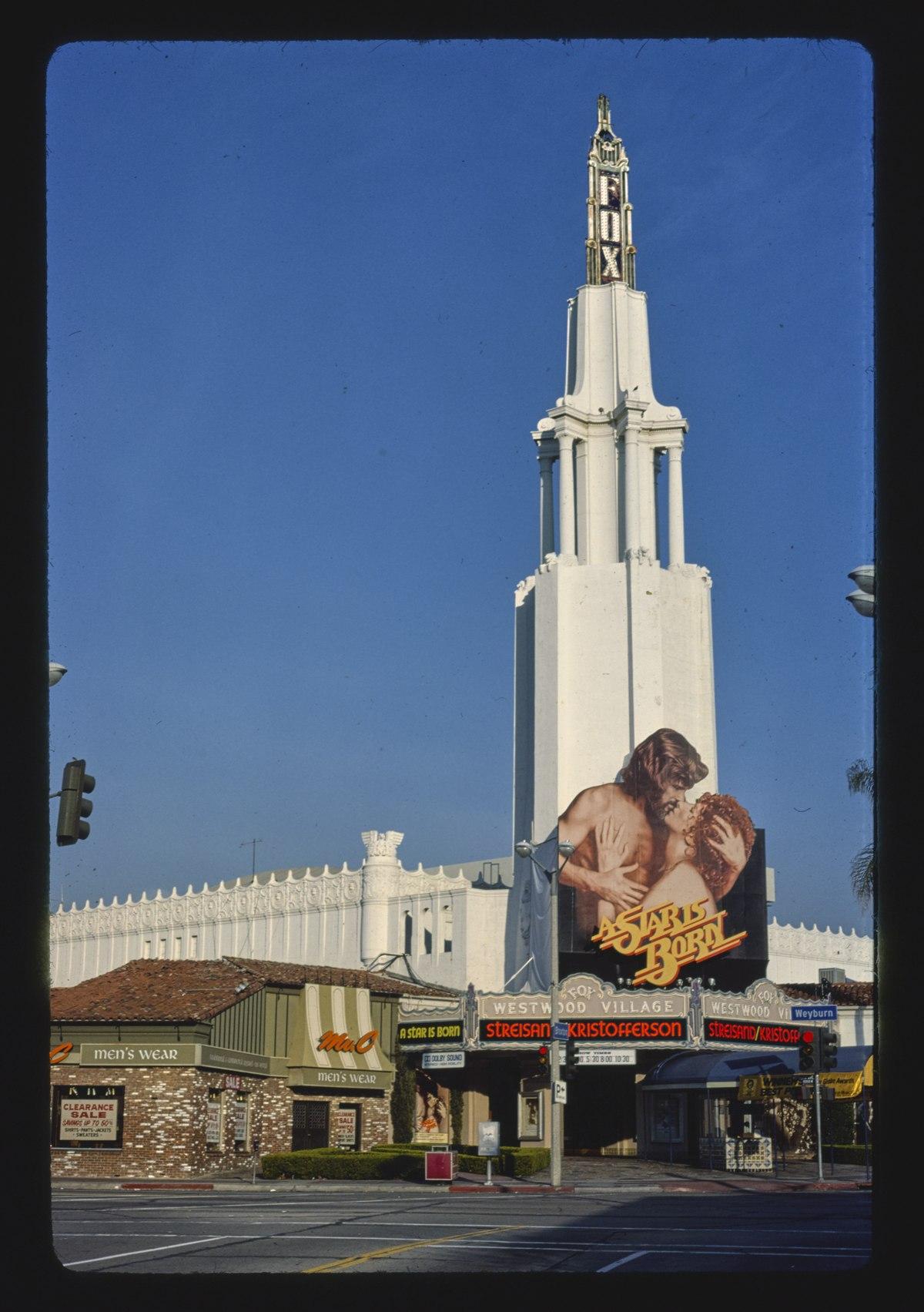 File Fox Westwood Village Theater Westwood California