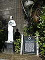 Fr. Pedro Dandan historical marker at the Parañaque Cathedral.jpg