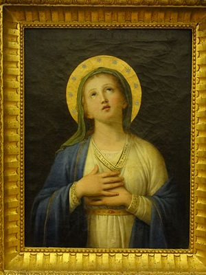 Andrea Pozzi - The Immaculate Conception, in the  Sacro Convento