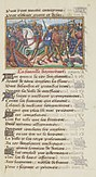 Français 5054, fol. 11, Bataille d'Azincourt (1415).jpg