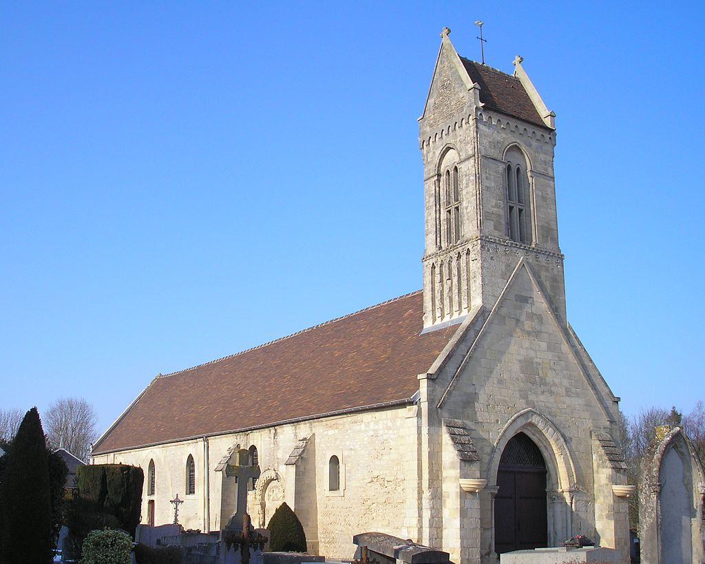 L'église Saint-Vigor.