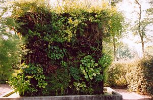Greenwall de Patrick Blanc, in Chaumont-sur-Lo...