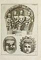 Francisci Ficoronii Reg. Lond. Acad. socii dissertatio de larvis scenicis et figuris comicis antiquorum Romanorum, et ex Italica in Latinam linguam versa (1754) (14779164721).jpg