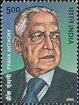 Frank Anthony 2003 stamp of India.jpg