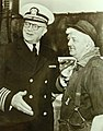"""Frank Waldron, receives praise and a Navy """"E"""" for his good work as a brass worker, 1942 (23221327103).jpg"""