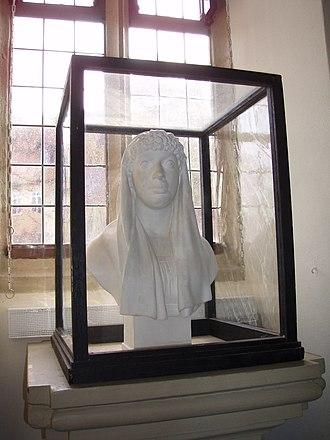 Franziska von Hohenheim - Bust by Daniel Mack, 1804