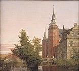 Frederiksborg Slot. Parti ved Møntbroen 1836 by Købke.jpg