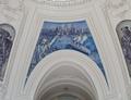 "Fresco painting ""Passing the Statue of Liberty"" located in rotunda,; Alexander Hamilton U.S. Custom House, New York, New York LCCN2010720077.tif"