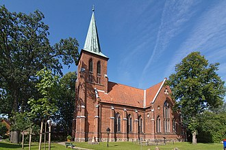 Groß Oesingen - The Lutheran church