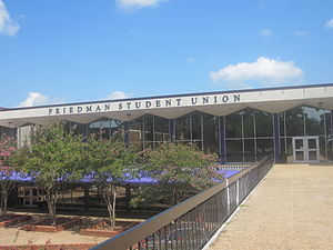 Northwestern State University - The Friedman Student Union Building is named for the late Louisiana State Senator Sylvan Friedman of Natchitoches.