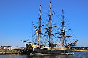 Salem Maritime National Historic Site - Image: Friendship of Salem