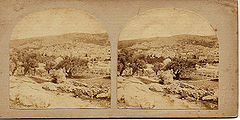 Frith, Francis (1822-1898) - Views in the Holy Land - n. 428 - Hebron. Northern Half of the City - recto.jpg