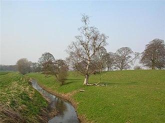River Kyle - Image: From Carrholme bridge geograph.org.uk 381242