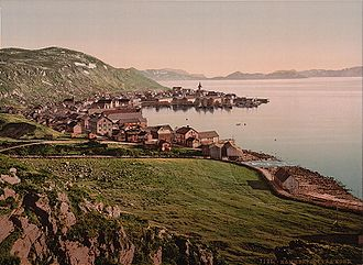 Hammerfest - Hammerfest in the late 19th century