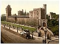 From the southeast, Cardiff Castle, Wales LOC 3752438888.jpg