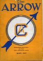 "Front cover of ""The Arrow,"" published by the City Athletic Club (10707629675).jpg"