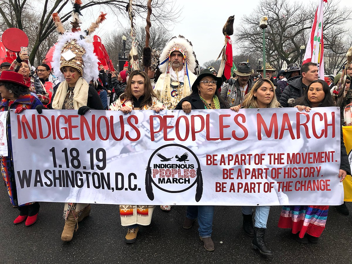 Indigenous Peoples March - Wikipedia