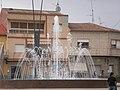 Fuente en la Plaza de Jose Virgili (Ceutí) - panoramio.jpg