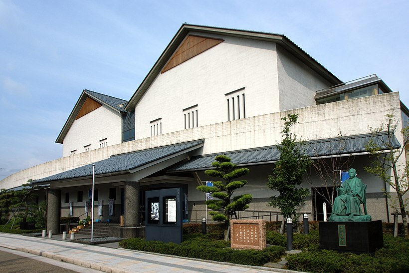 描かれた福井城と武家屋敷