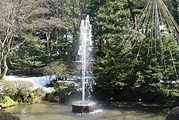 Primera fuente en todo Japón.