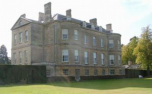 Buscot Park - Buscot Park, the north front