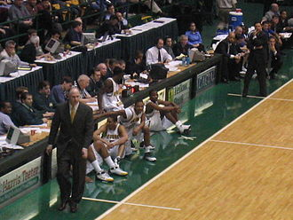 Hofstra visits the Patriot Center on January 26, 2005 GMU-BBallGame-Spring05.jpg