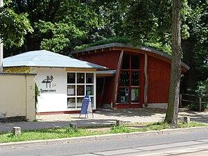 Görlitz Zoo - Eingang Tierpark