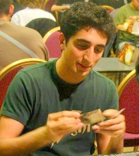Gabriel Nassif French player of Magic: The Gathering