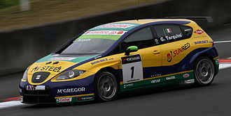 2010 World Touring Car Championship - Gabriele Tarquini (SEAT León) placed second in the Drivers Championship