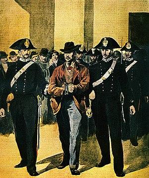 Gaetano Bresci - Gaetano Bresci during his trial