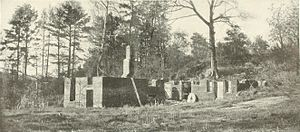 Battle of Gaines's Mill - Ruins of Gains Mills