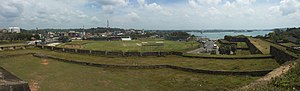 Jonathan Agnew - Image: Galle Dutch Fort cricket ground