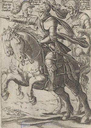 Alonso de Sotomayor - Alonso de Ovalle's 1646 engraving of Ruiz de Gamboa, Bravo de Saravia and Sotomayor
