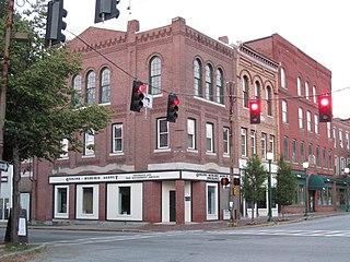 Gardiner Historic District (Gardiner, Maine)