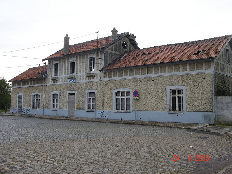 Gare d' Aniche (59) Nord France