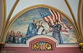 Garfield Takes the Presidential Oath by Michael Sarisky - Garfield Monument - Lake View Cemetery - 2015-04-04 (21768574235).jpg
