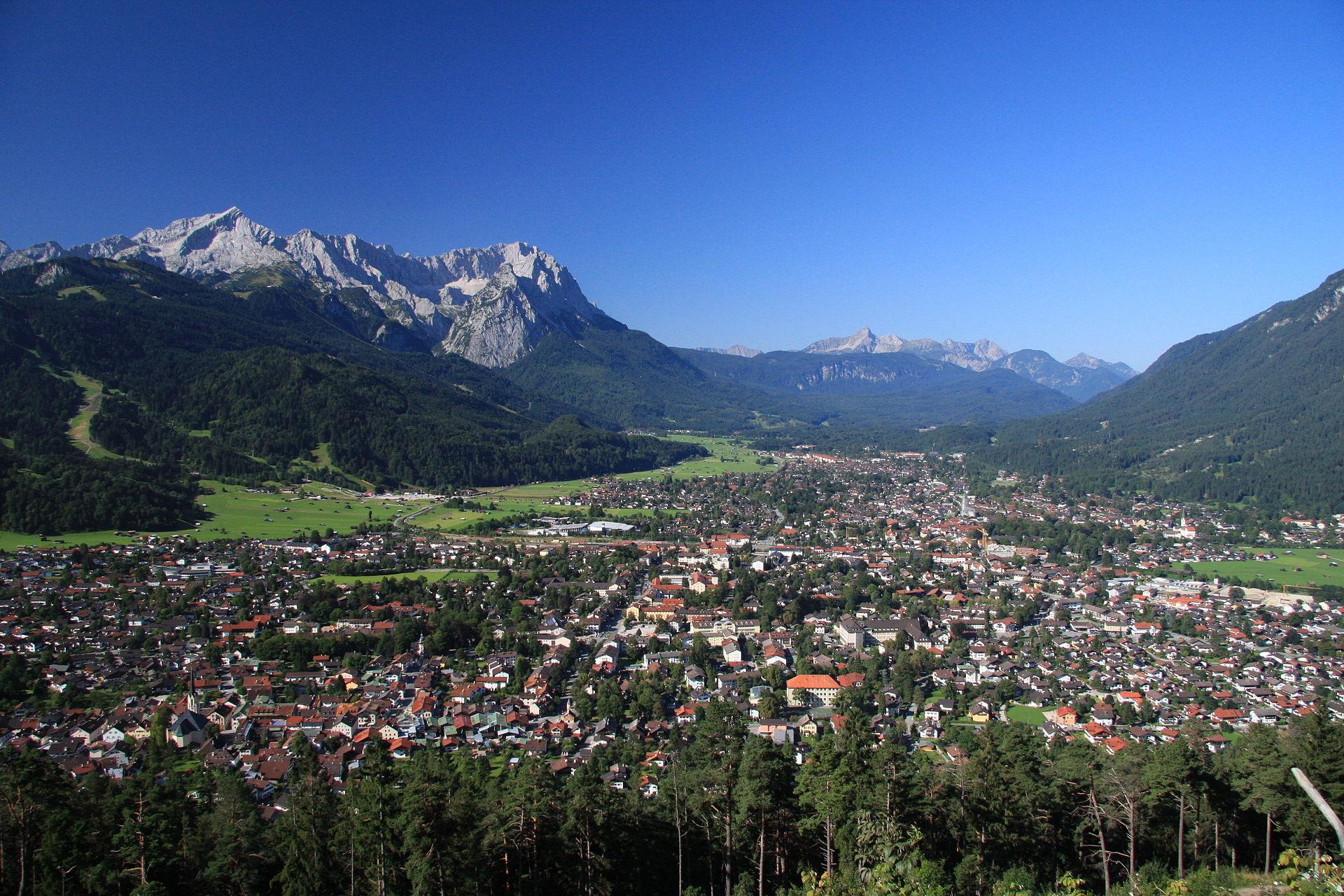 Garmisch Paten Kirchen
