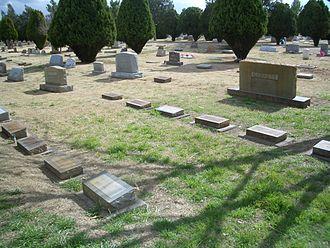 Pat Garrett - Garrett family burial site