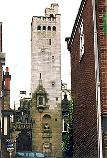 Gaskell Memorial Tower and Kings Coffee House
