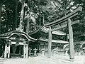 Gates of the temple in Nikko. Before 1902.jpg
