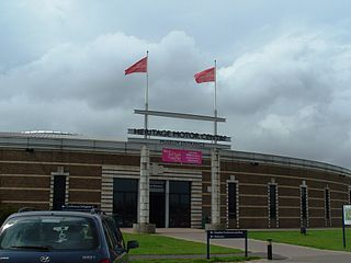 British Motor Museum Transport Museum in Warwickshire, England