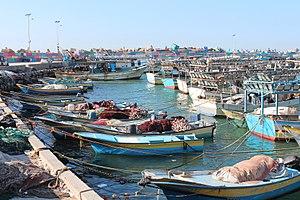 Port of Gaza - Gaza port, 2015