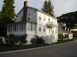 National Register of Historic Places listings in Mackinac County, Michigan - Image: Geary House