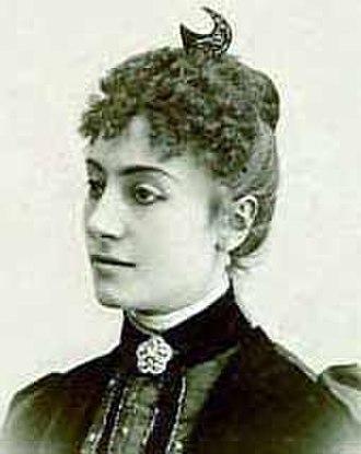 Fedora (opera) - Gemma Bellincioni, who created the title role